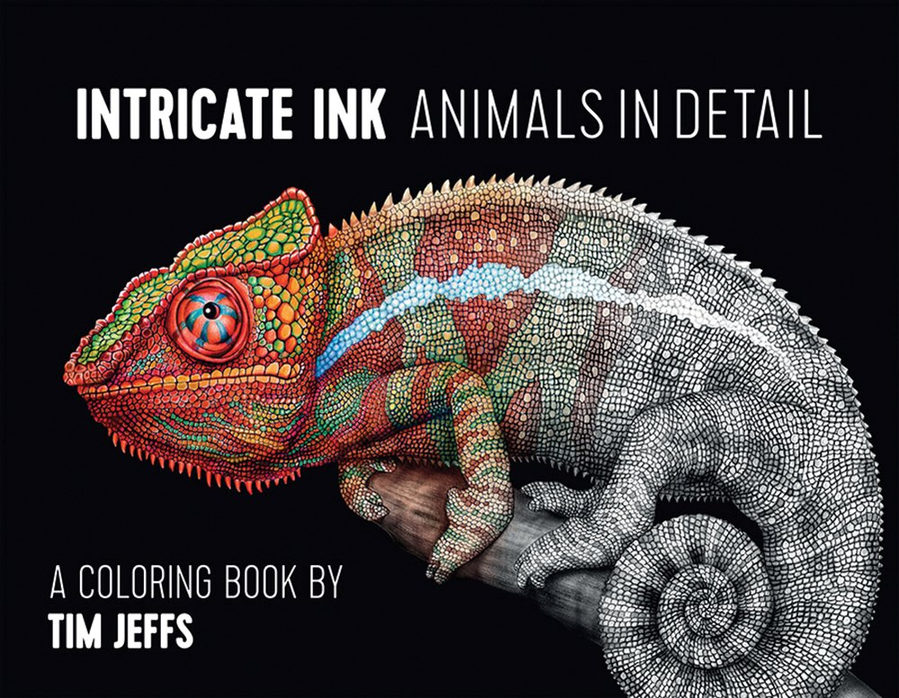 Intricate Ink Animals Detail Coloring product image