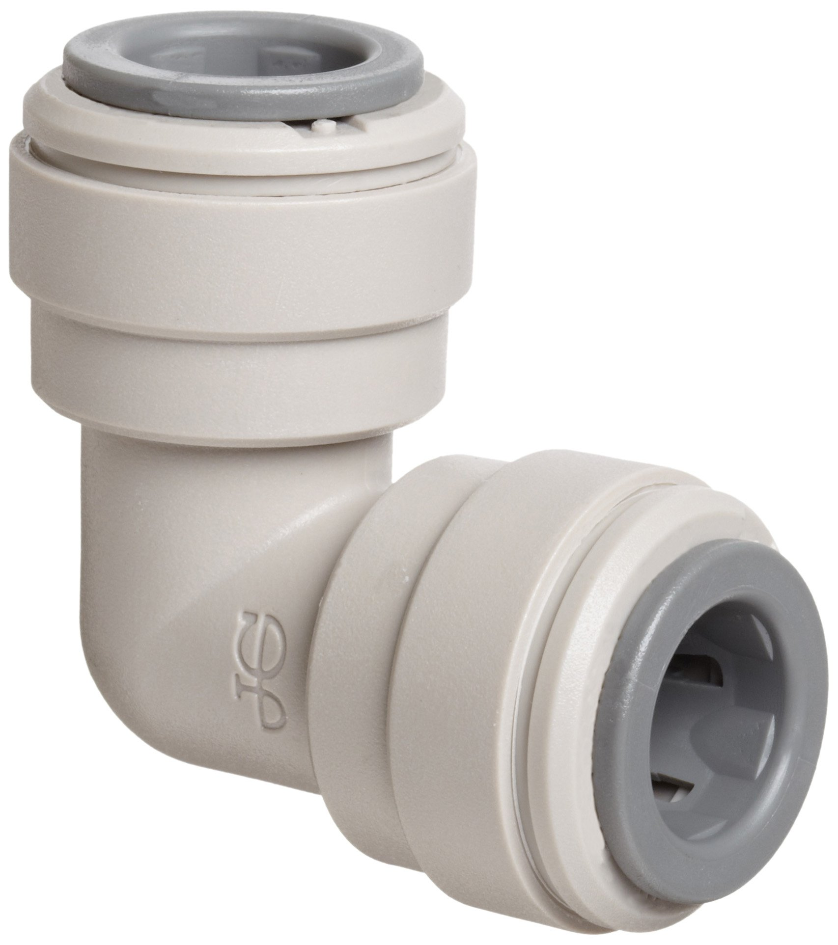 John Guest Acetal Copolymer Tube Fitting, Union Elbow, 3/8'' Tube OD (Pack of 10)