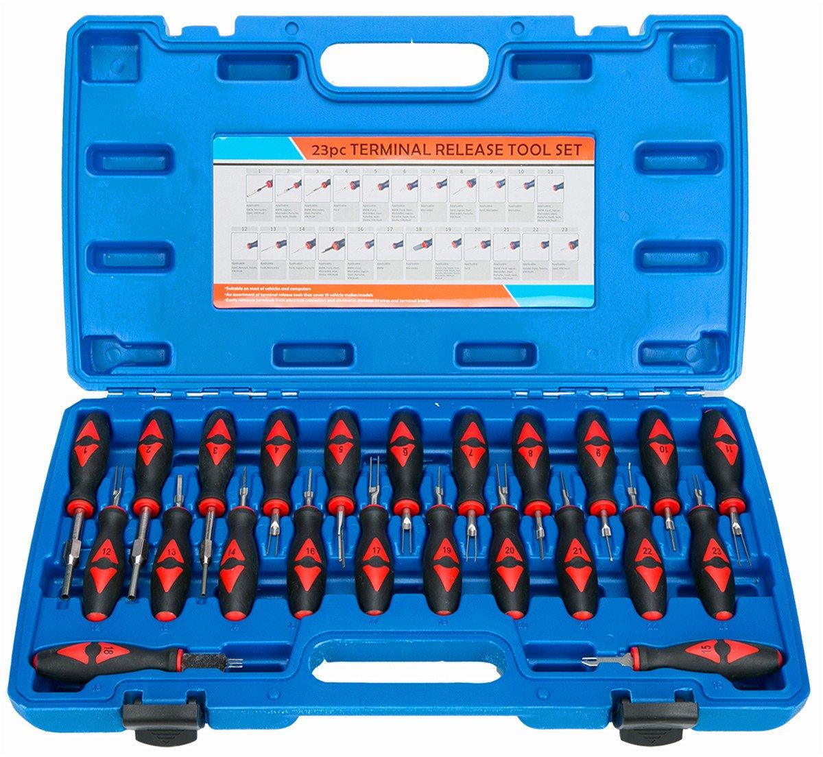 FreeTec 23/pi/èces Fiche ISO d/éverrouillage auspinnen auspin entriegeln voiture R/ésoudre Outils