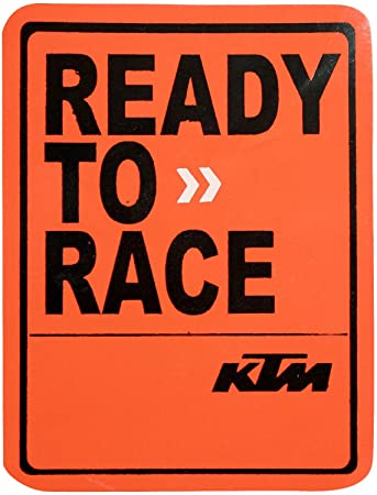 blissjunkies ss49 ready to race ktm decal for cars bike amazon in