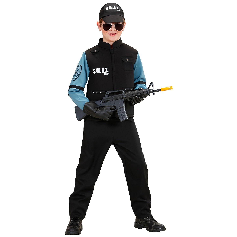 WIDMANN Widman - Disfraz de SWAT infantil, talla 10 años (76547 ...