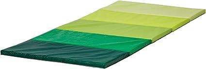 green 78x185 cm by Ikea Folding gym mat IKEA PLUFSIG