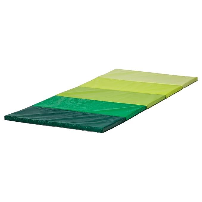 Amazon.com: IKEA PLUFSIG 90262832 折りたたみ式 ジムマット 78 ...
