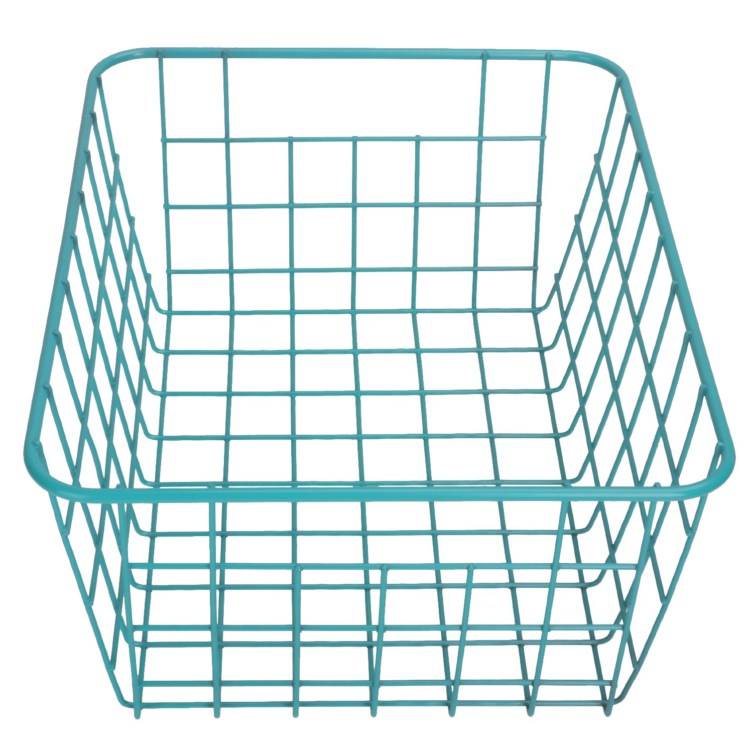 Amazon.com : Kleanner Green Wire Basket, Storage Basket, Rectangle ...