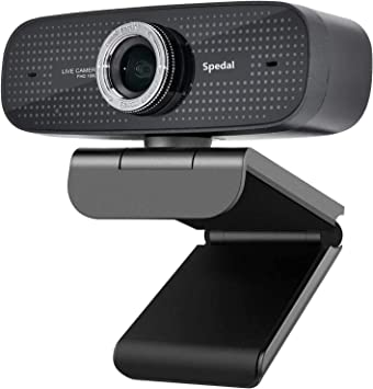 Opinión sobre Webcam HD 1080P Stream Cámara Web con Micrófonos Duales Integrados Compatible con Xbox OBS Twitch Skype Youtube XSplit, Compatible con Mac OS Windows 10/8/7