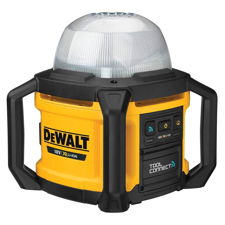 Basisv. Schwarz//Gelb 18V DeWALT DCL074-XJ Akku-Baustellenstrahler
