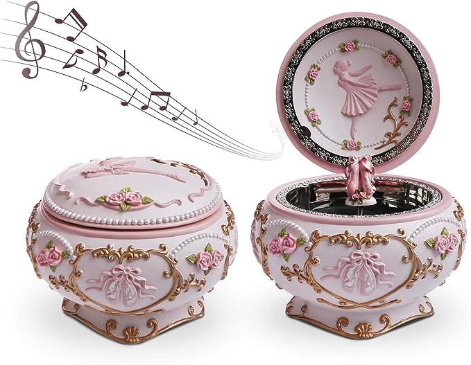 Goodii Ballerina Music Box - Joyero de Bailarina con bisagras ...
