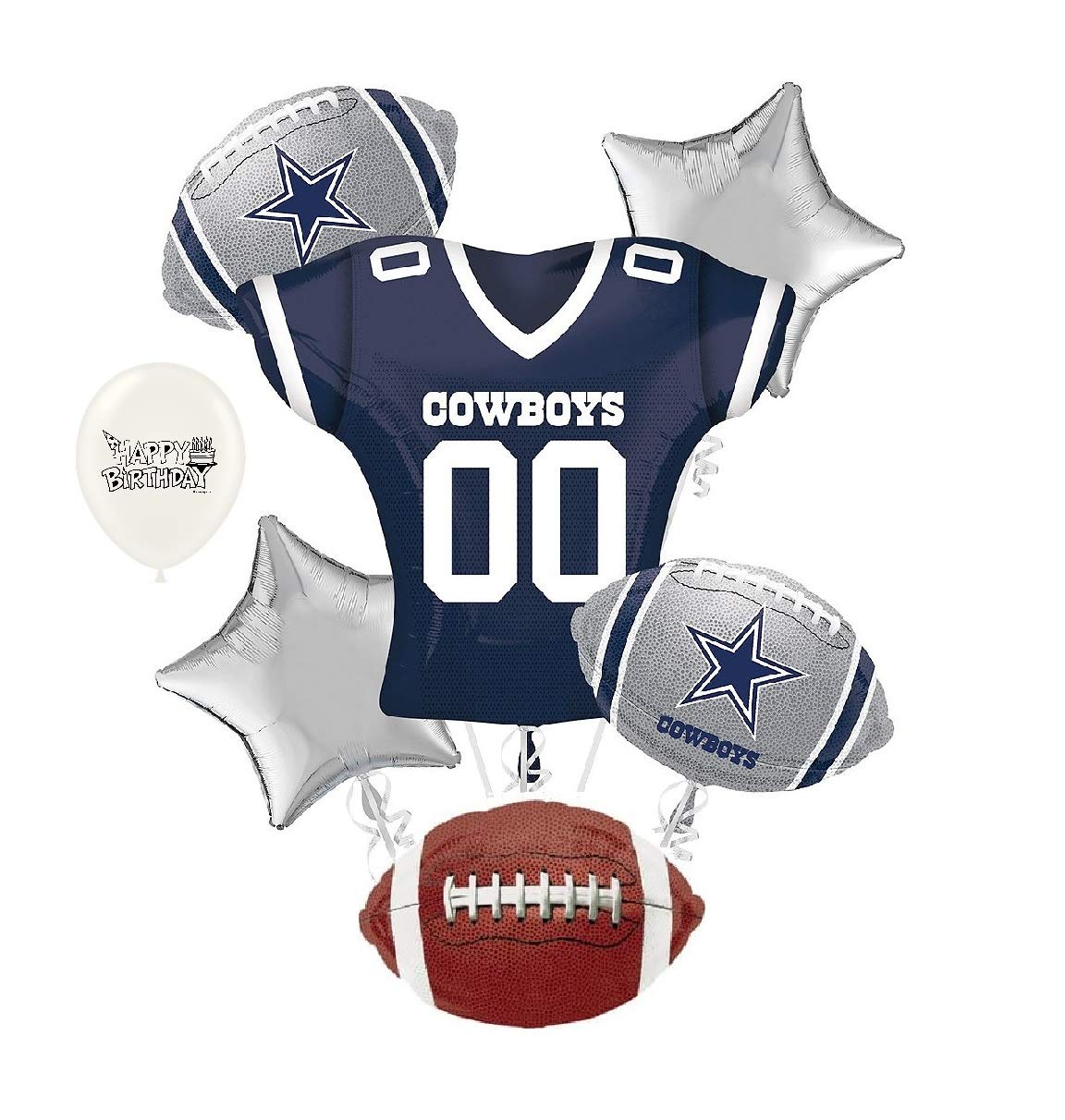 Amazon Dallas Cowboys NFL Football Party Balloon Bouquet Bundle Health Personal Care