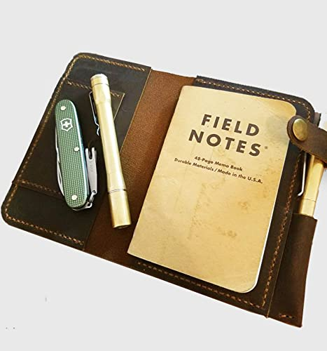 Men GiftGift For MenMen Personal OrganizerLeather Note Pad OrganizeField Notes CoverPersonalized Gift HimBirthday GiftHusband