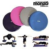 MONZO, Balance Disk, Disco de Equilibrio con Bomba, Fitness, Estabilidad, Control, Fuerza