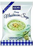 Keya Instant Soup, Creamy Mushroom, 44g (Four Serve)
