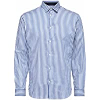 SELECTED HOMME Slhslimflex-Park Shirt LS B Noos Camisa para Hombre