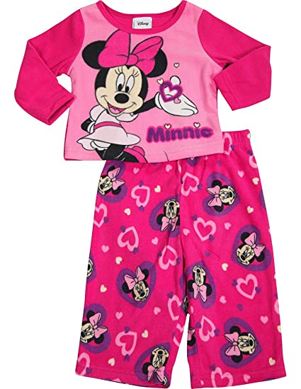 Amazon.com  Disney - Baby Girls Long Sleeve Minnie Mouse Pajamas ... 95ae07539