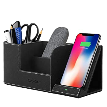 EasyAcc Wireless Charger Desk Organizer