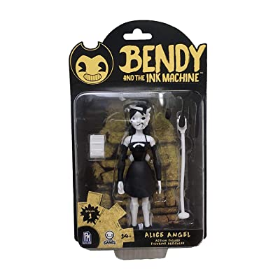 Bendy and the Ink Machine Alice Angel Action Figure: Toys & Games