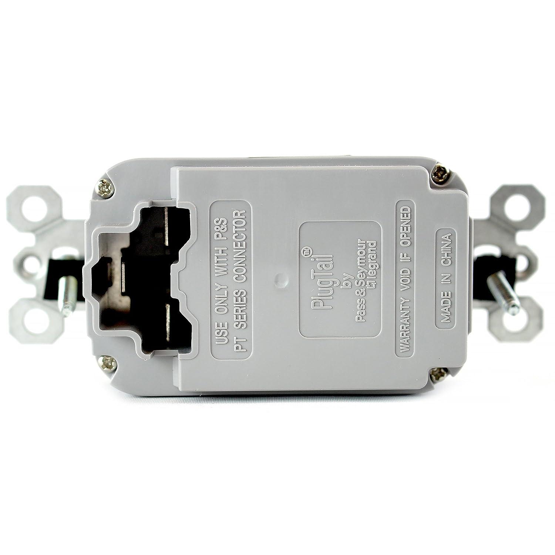 Pass /& Seymour Pt2095-La 20A 120V Gfci Rcpt