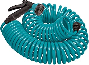 Orbit 27436 Coil Garden Hose, 50 ft, Green