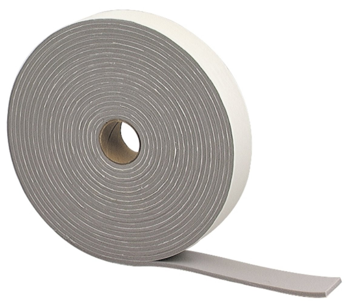 M-D Building Products 2352 Camper Seal Tape, 3/16-by-1-1/4-Inch by 30 feet, Gray