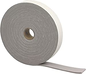 M-D Building Products M-D 0 Camper Seal Tape, 1-1/4 in W X 30 Ft Roll L X 3/16 in T, PVC, 2352