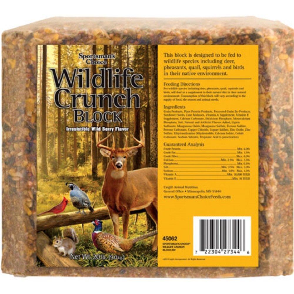 Sportsmans Choice Wildlife Wild Berry Crunch Block - 20 Lb. by Sportsmans Choice