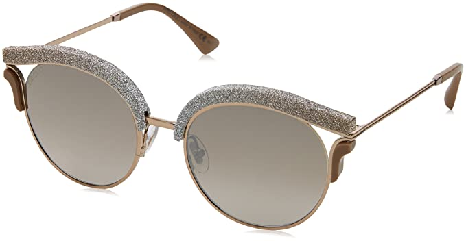 82b659a0e1 Jimmy Choo LASH S 1RUNQ (Glitter Beige - Light Gold with Brown Gradient with