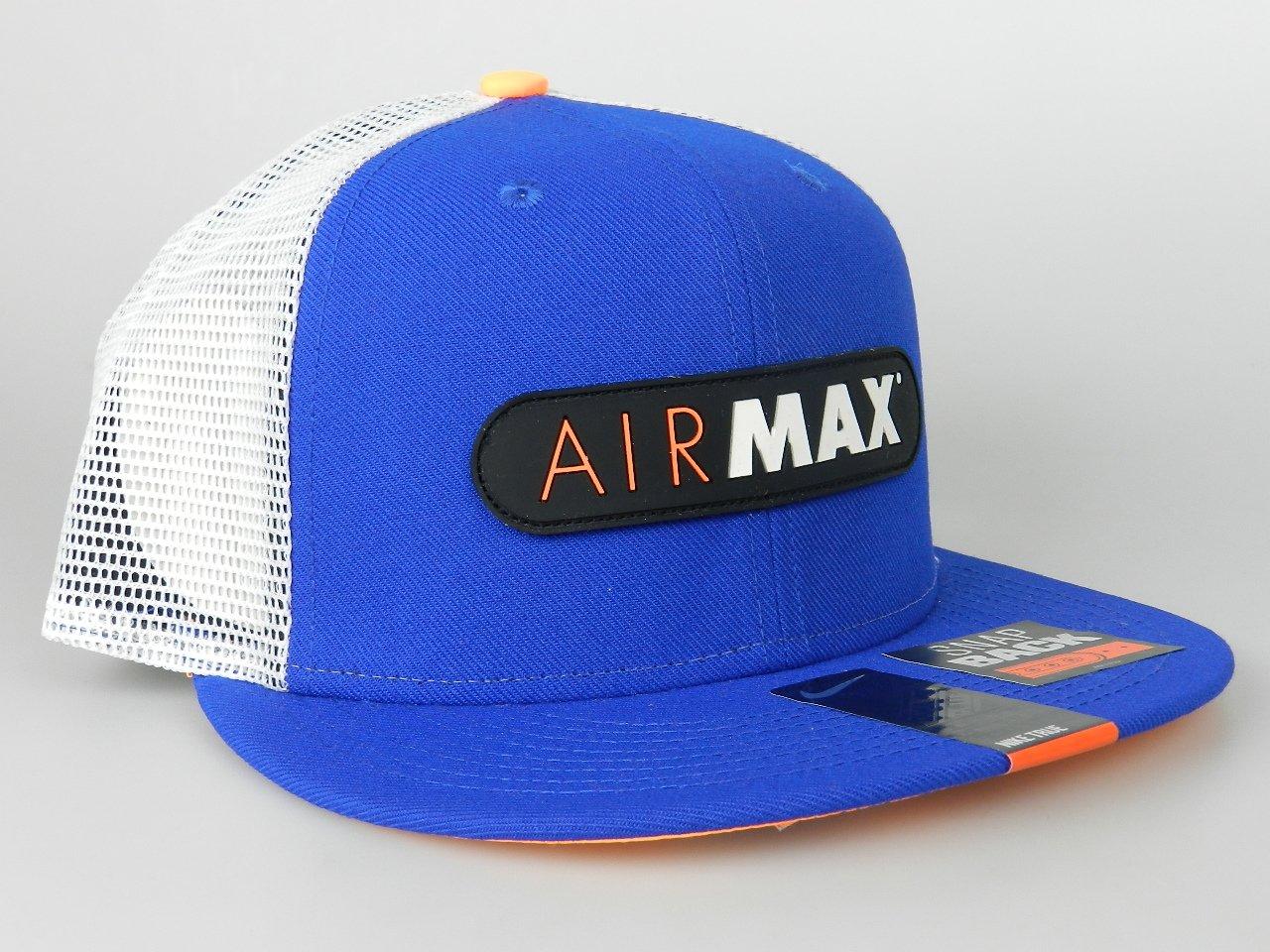 check out 47ae4 3abab Amazon   Nike Air Max 93 QT S +メンズブルーオレンジTruckerメッシュ帽子657993 489   NIKE    帽子・キャップ