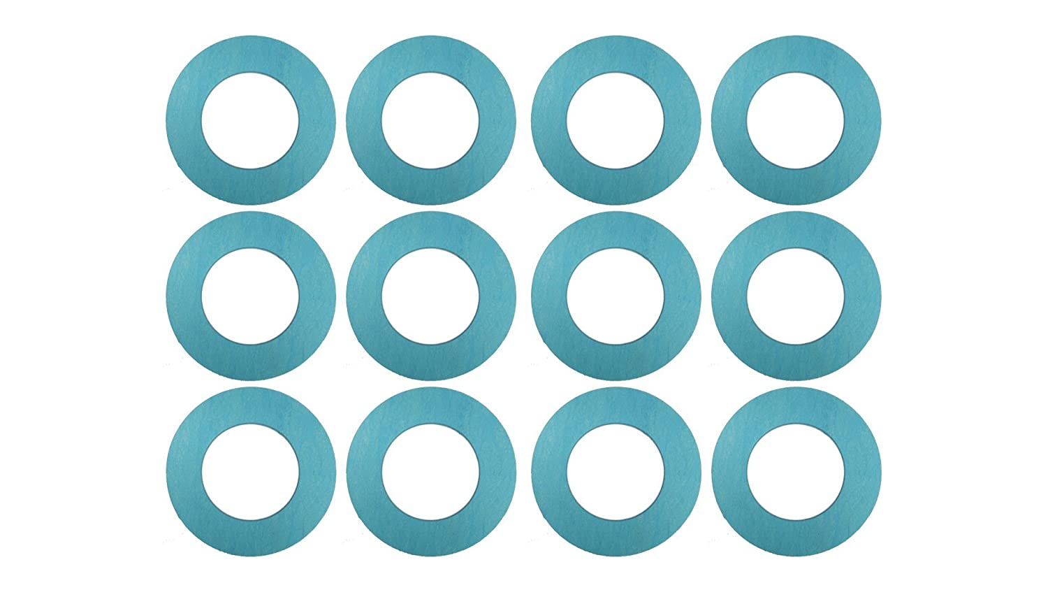 Sterling Seal CRG7106.500.062.300X50 7106 60 Durometer Ring Gasket 1//16 Thick Neoprene Rubber Pack of 50 0.84 ID 1//2 Pipe Size Pressure Class 300#