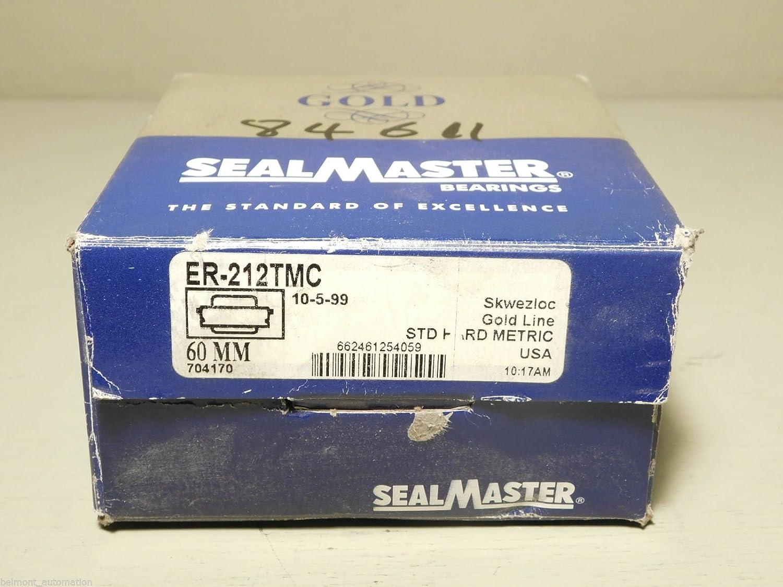 SealMaster Gold Line ER-212TMC 60mm Bearing BRAND NEW