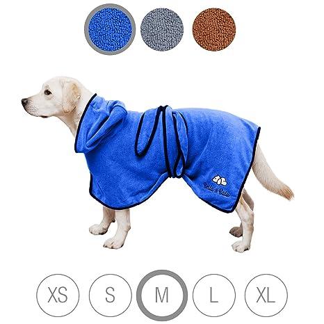 Toalla Bella & Balu, para perros, de microfibra, absorbente, para secarlo