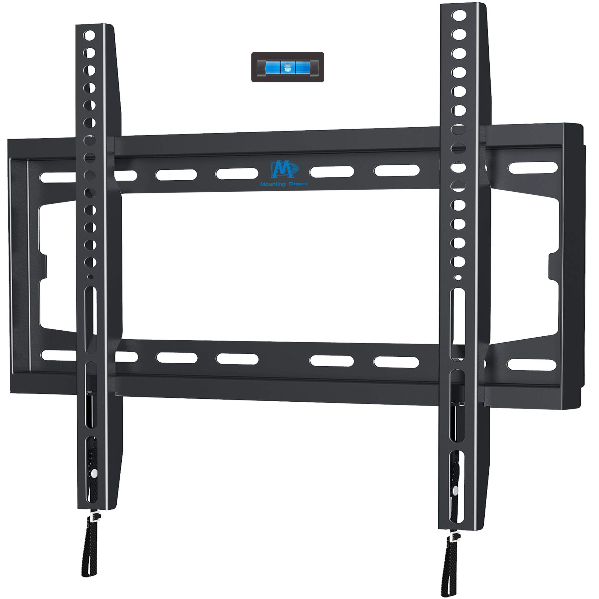 Mounting Dream MD2361-K TV Wall Mount Bracket For Most 32-50 Inch LED, LCD and Plasma TVs Up To VESA 400x400mm and 100 LBS Loading Capacity, Low Profile