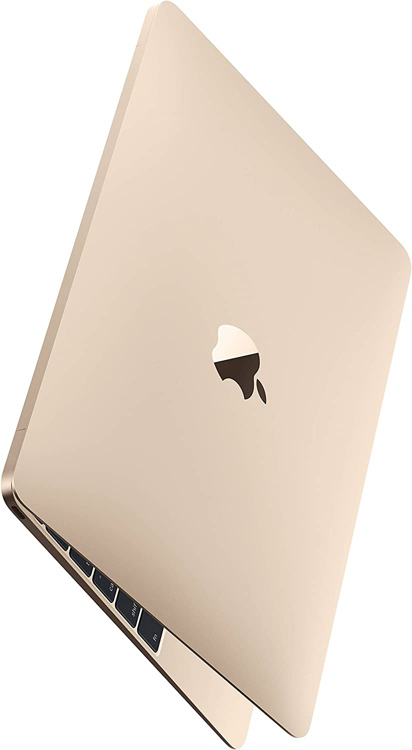 "Apple Gold Macbook - MK4N2LL/A Core M-5Y51 1.2GHz (up to 2.6GHz), 8GB RAM,512GB SSD, 12"" Retina IPS, Laptop (Renewed)"