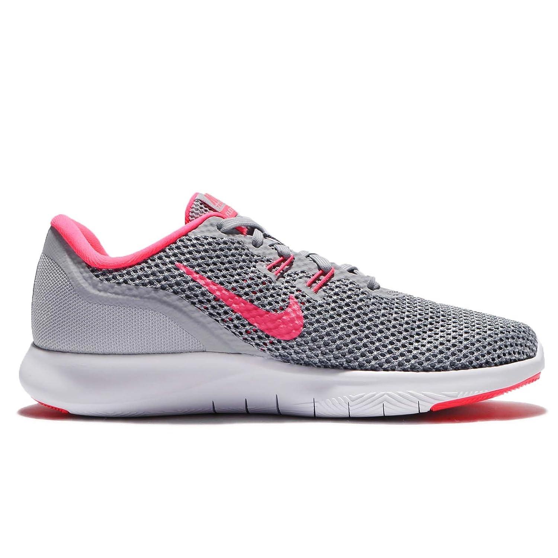 Nike Flex TR 7Bota Deportiva para Mujer, Grau/Pink/Weiß