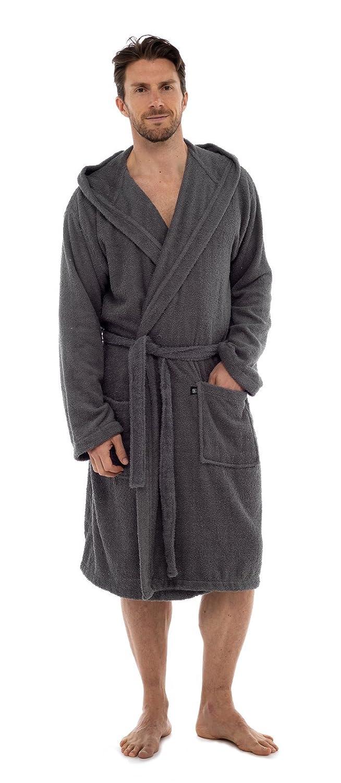 Strong Souls Mens Cotton Towelling Bath Robe  Amazon.co.uk  Clothing 6a94c5b61