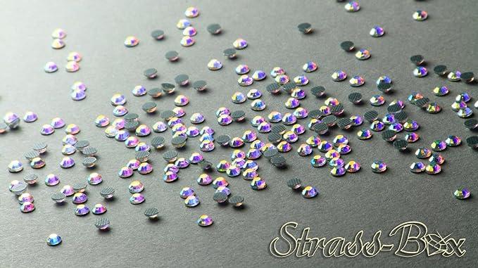 Menge und Grösse wählbar Hotfix Strasssteine Crystal AAA-Qualität