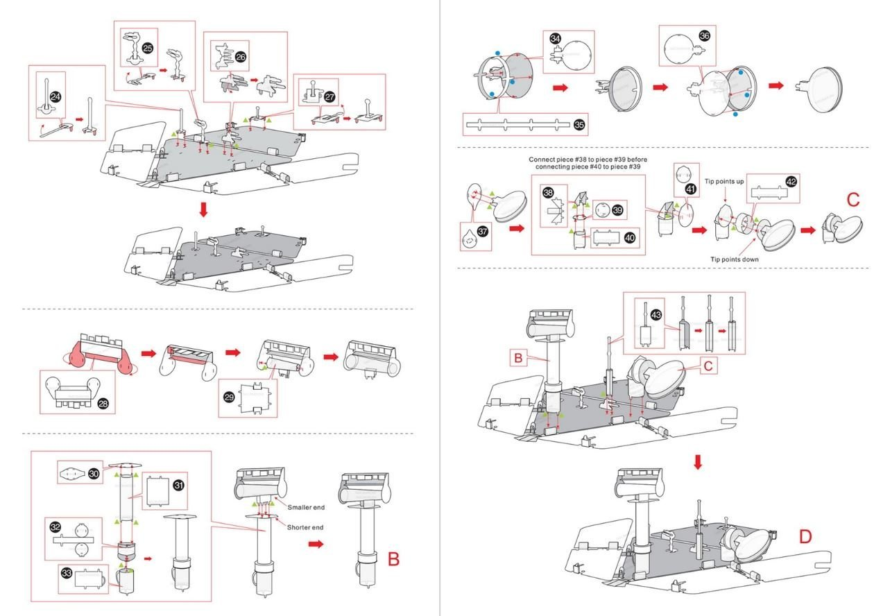 Amazon.com: Fascinations Metal Earth Mars Rover 3D Metal Model Kit:  Fascinations: Toys & Games