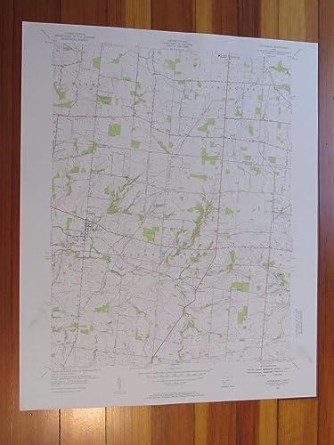 Springboro Ohio Map.Amazon Com Springboro Ohio 1956 Original Vintage Usgs Topo Map