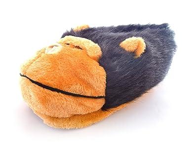 2cf101ebe7c Monster Slippers Men s   Women s Novelty Guy Gorilla Animal Slippers 13.5  to ...