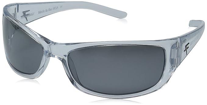 eb4bc2fe6629a Fatheadz Eyewear Men s The Boss V2.0 Polarized Wrap Sunglasses Clear 71.0 mm