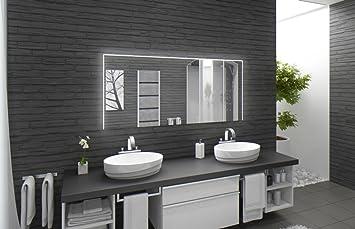 Badspiegel mit Beleuchtung Santa Rosa M220L3: Design Spiegel für ...