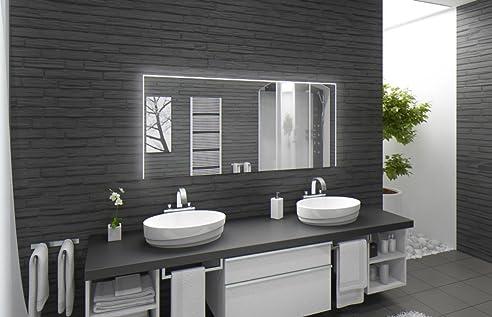 Badspiegel Mit Beleuchtung Santa Rosa M220L3: Design Spiegel Für