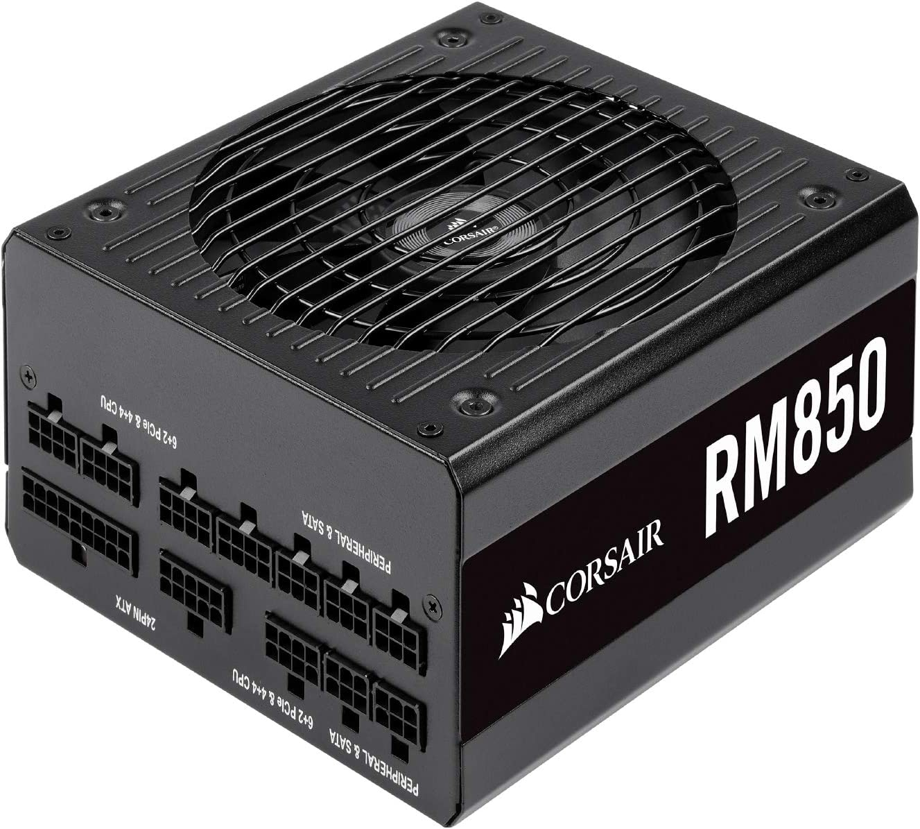 CORSAIR RM Series, RM850, 850 Watt, 80+ Gold Certified, Fully Modular Power Supply, Microsoft Modern Standby