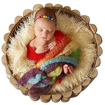 Amazon.com  Newborn Baby Stretch Knit Wrap ac5fcb3f505