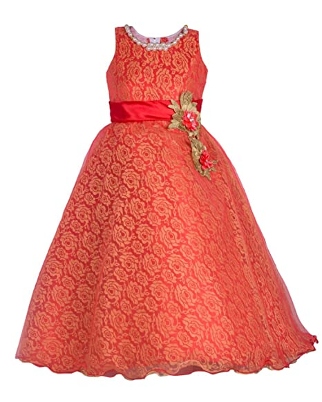 My Lil Princess Girl's Net Frock Girls' Dresses & Jumpsuits at amazon