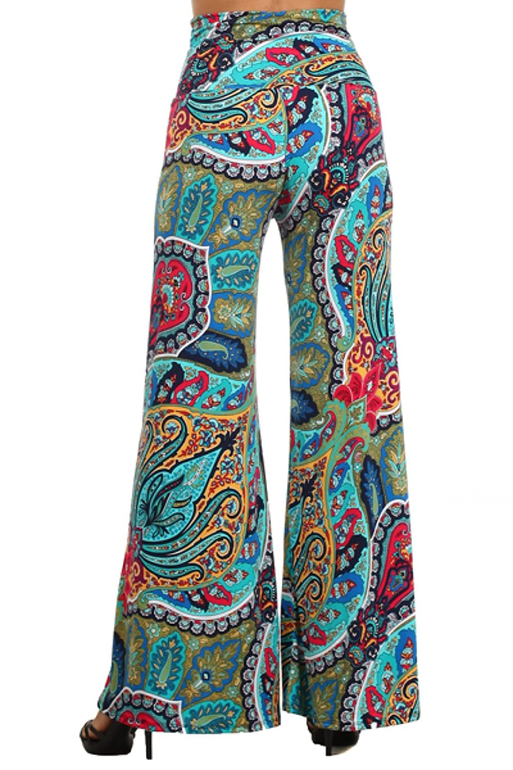 2LUV Plus Women's High Waisted Plus Palazzo Pants