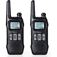 2-Pack Radioddity FS-T1 FRS Two-Way Radio with FM, Earpiece, USB Charging