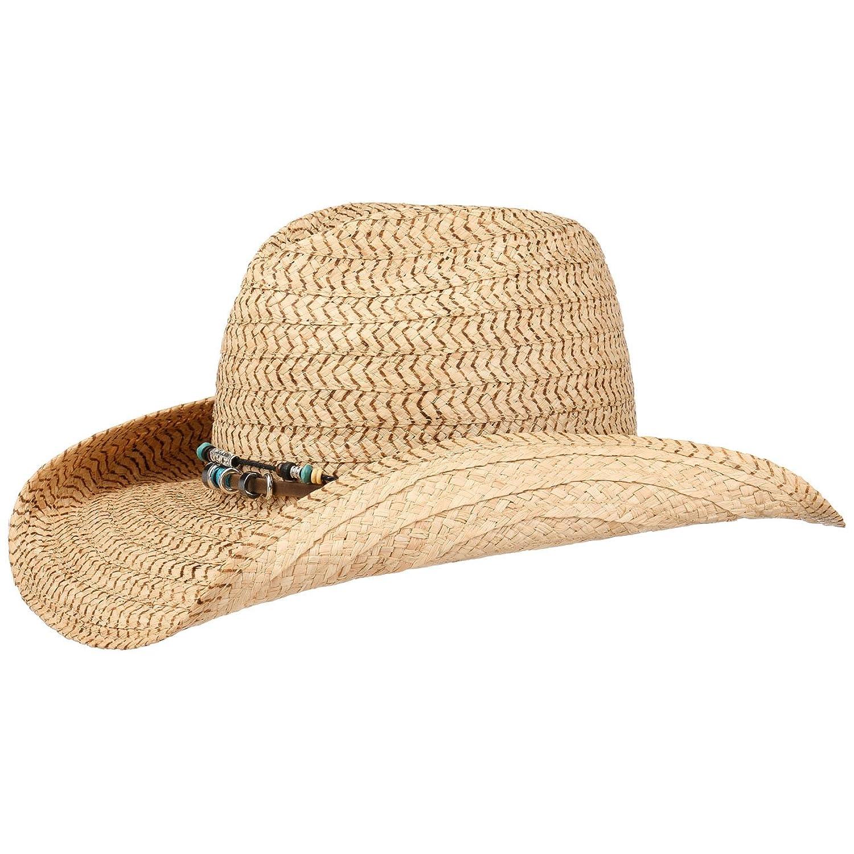 87f9d22502d90 50%OFF Sombrero de Rafia Glenrio Oeste by Stetson sombrero de  veranosombrero de paja sombrero