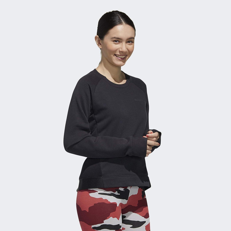 adidas W FC Sweat Sweatshirt (Long Sleeve) Femme Black
