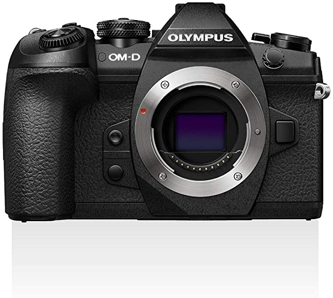 Olympus OM-D E-M1 Mark II Cámara de Sistema Micro Cuatro Tercios, 20.4 Megapíxeles, Estabilizador de Imagen de Cinco Ejes, Visor Electrónico, negro