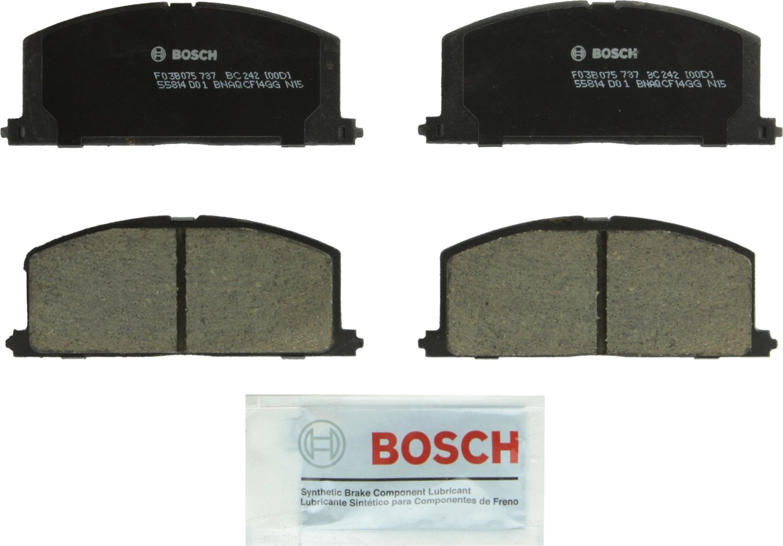 Bosch BC1156 QuietCast Brake Pad Set