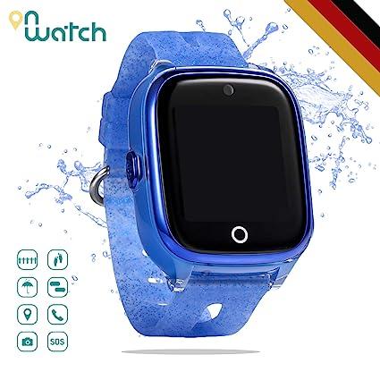 ON WATCH Smartwatch Kinder GPS + WiFi + Lbs + Agps mit SIM ...